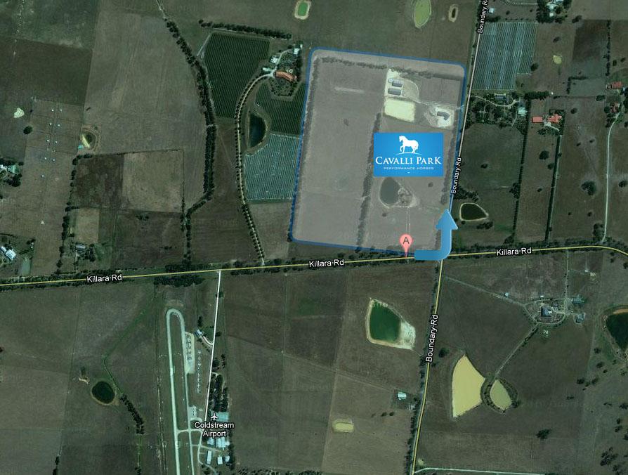 Cavalli Park Arial Map